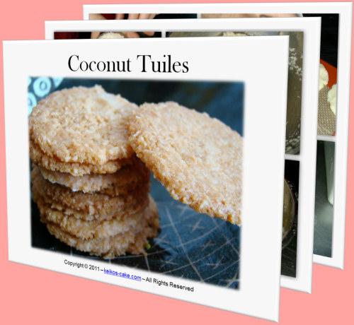 Coconut Tuiles